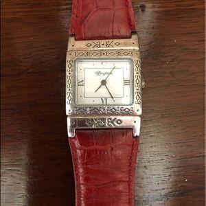 Brighton Reversible Red & Black Watch